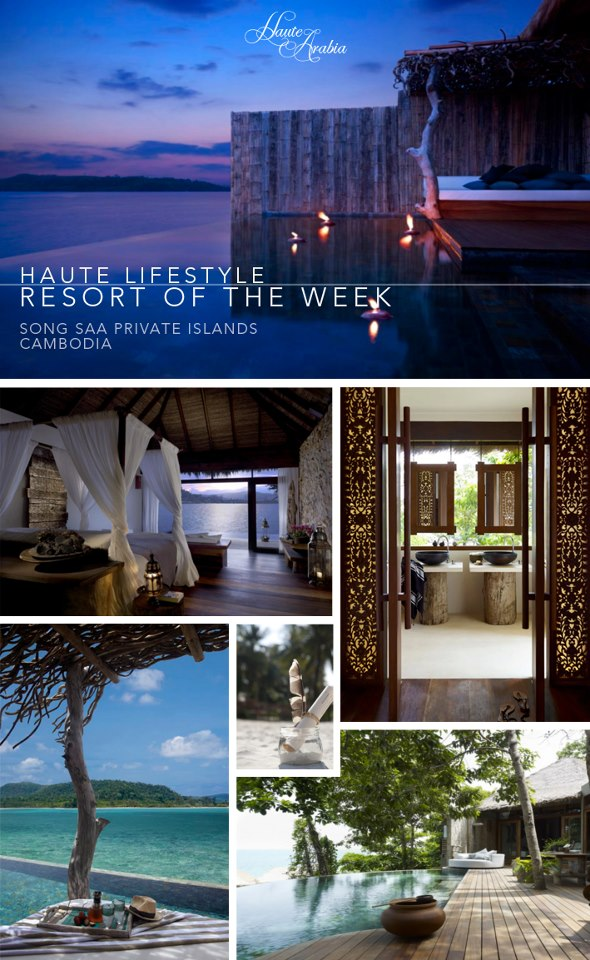 Haute Lifestyle | Resort of the week  Song Saa Private Islands, Cambodia