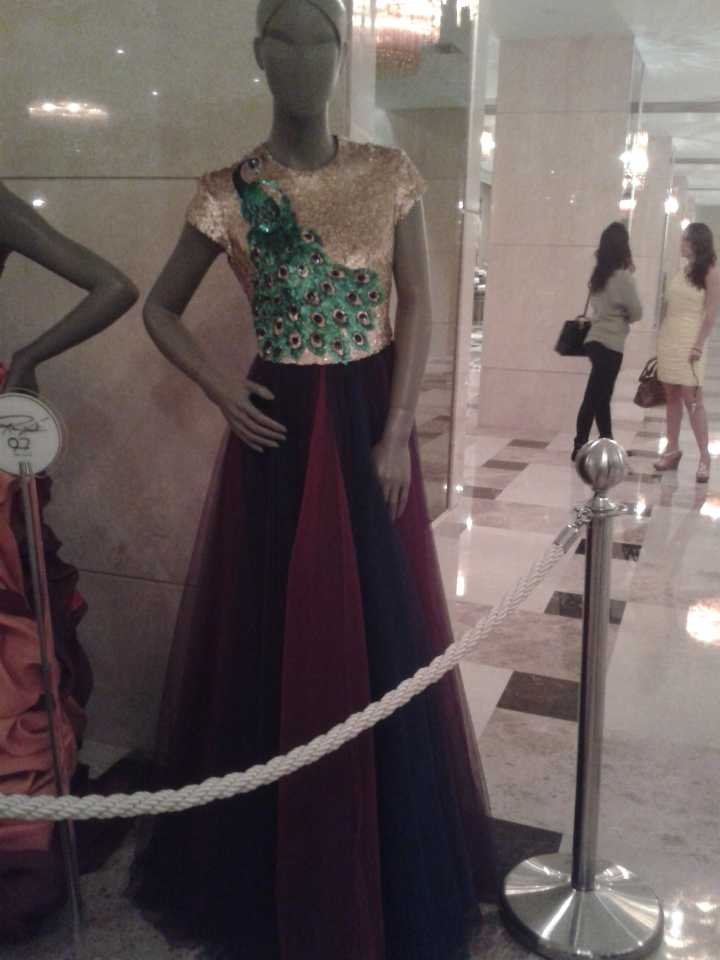 Rami Kadi dresses on display!