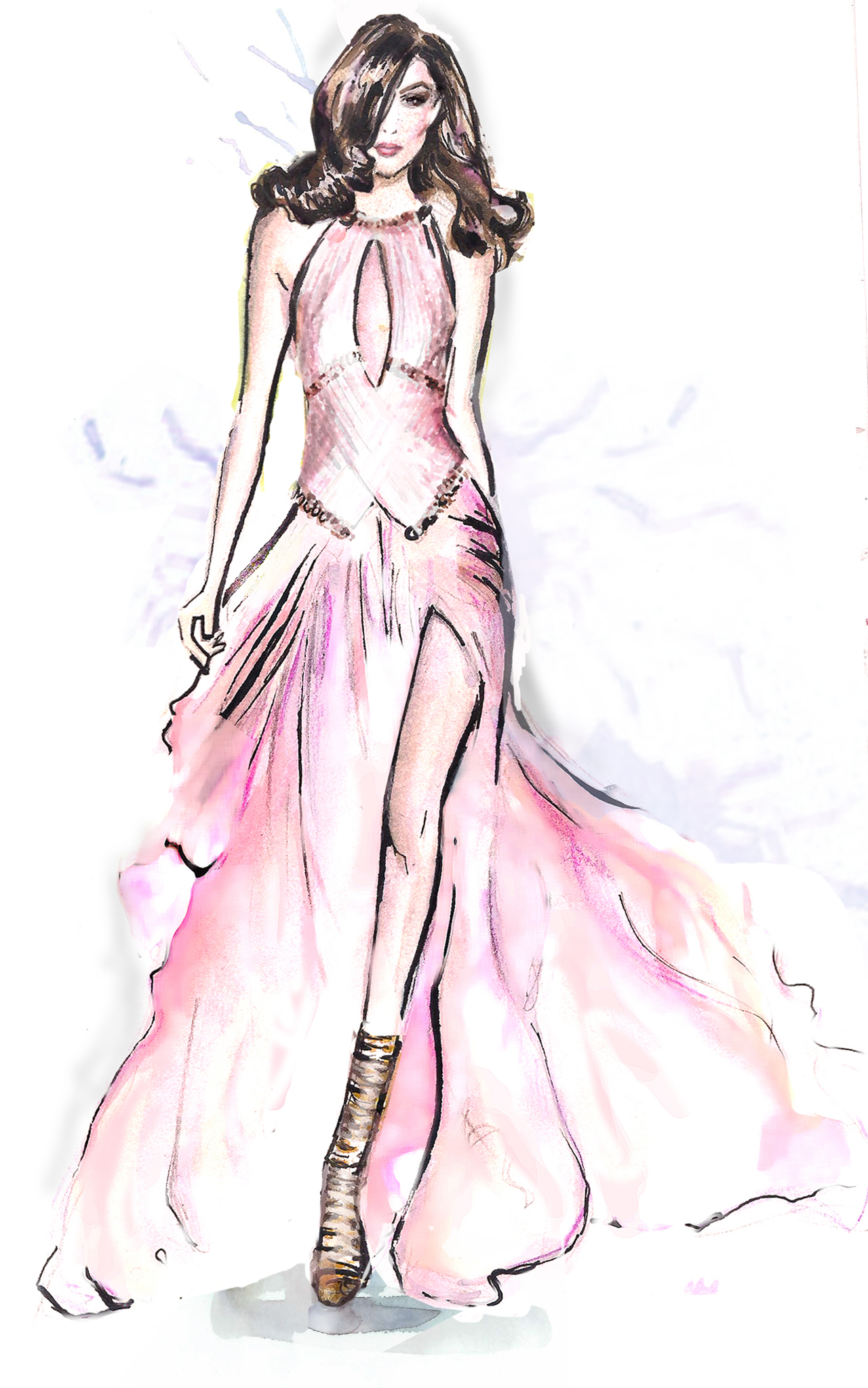 The gallery for --> Donatella Versace Sketches