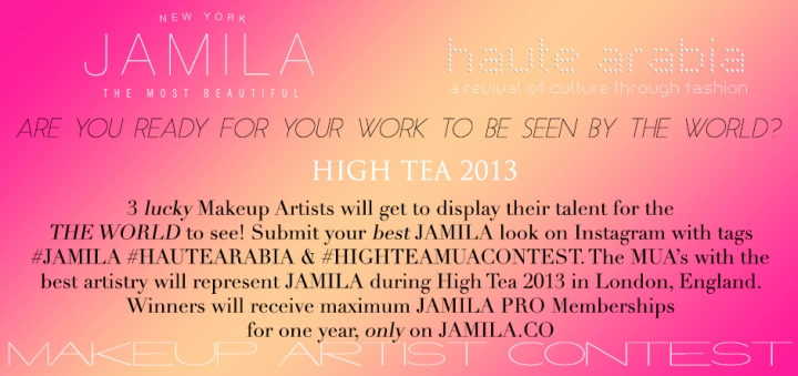 JAMILA High Tea MUA Competition