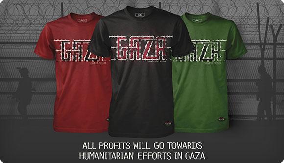 SHARQ & GHARB Gaza T-Shirt