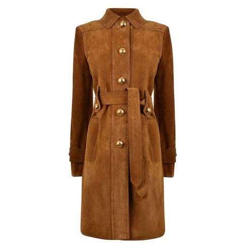 Gucci | Suede Trench Coat
