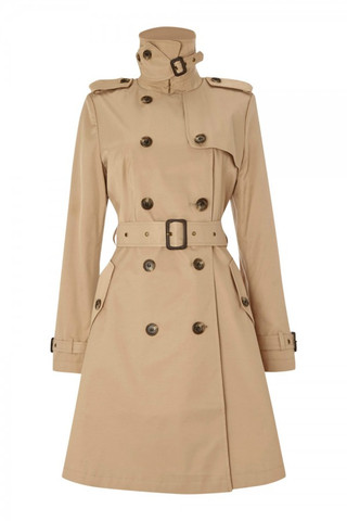 Ralph Lauren  | Classic Skirted Trench Coat